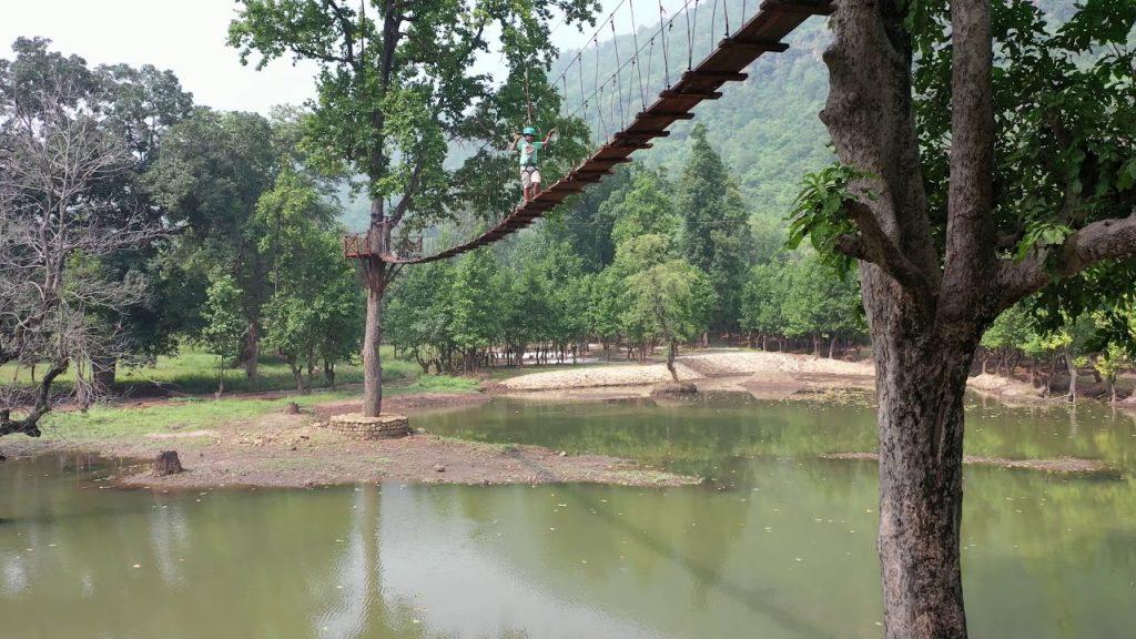 Adventure Sports Inside Eco Park,Mada.